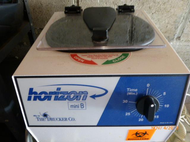 Drucker Horizon Mini B Centrifuge $100