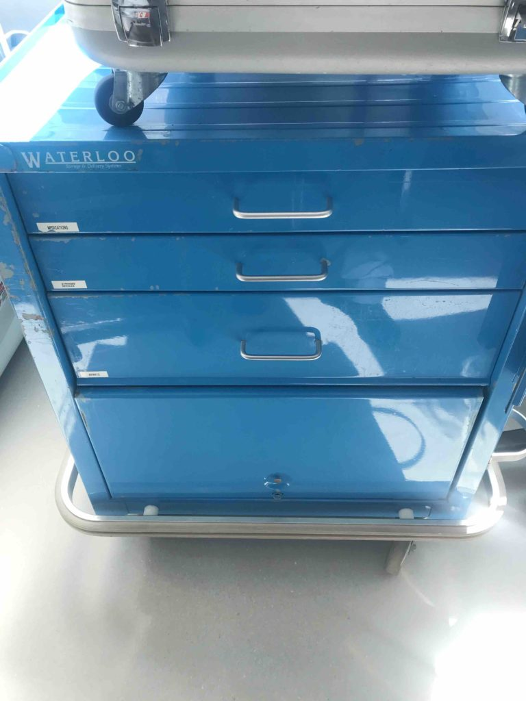 Blue Cabinet $1000